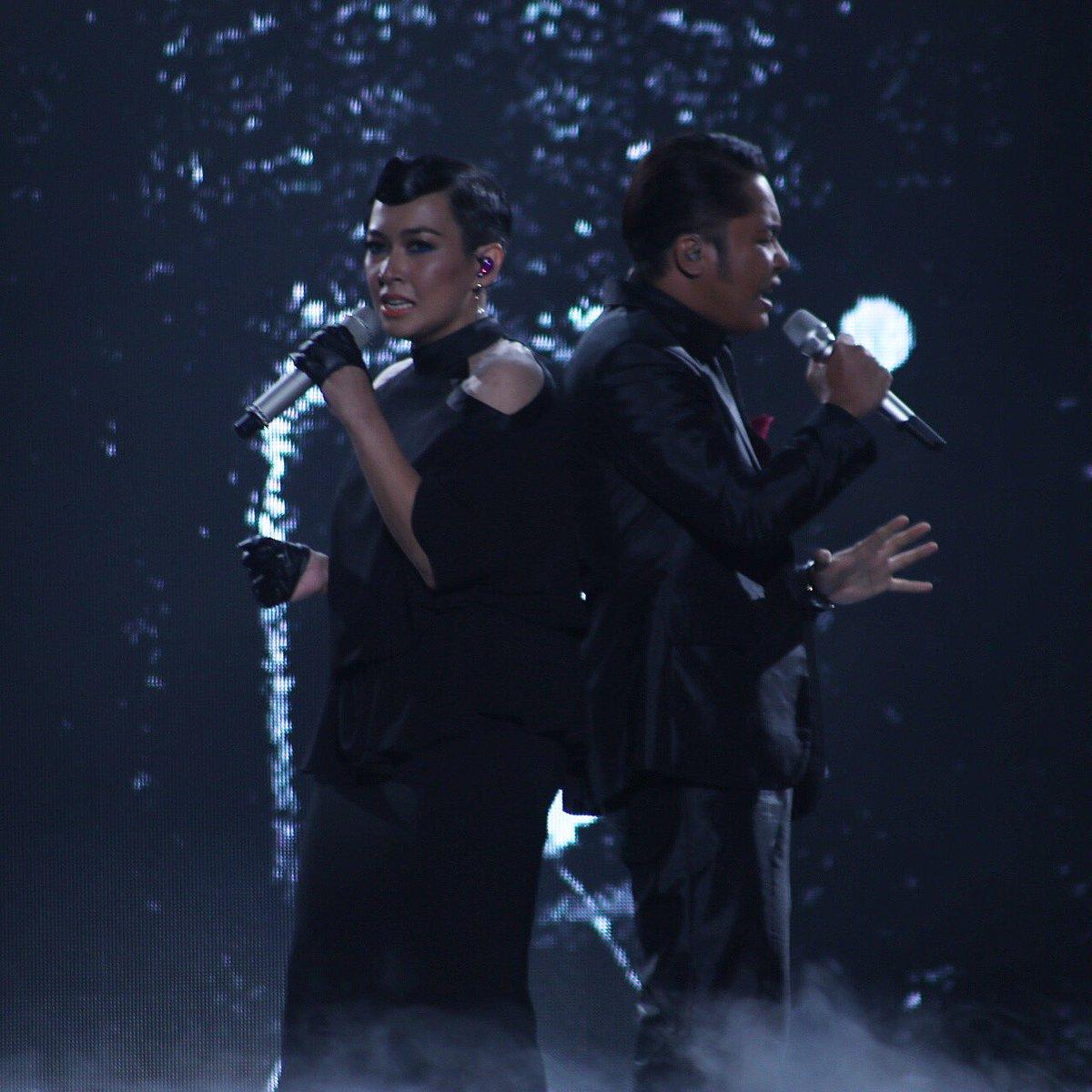 Gandingan vokal terbaik Misha Omar & @hafizsuip utk lagu 'Terimaku...