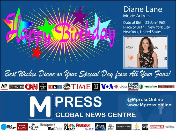 Happy Birthday Diane Lane
