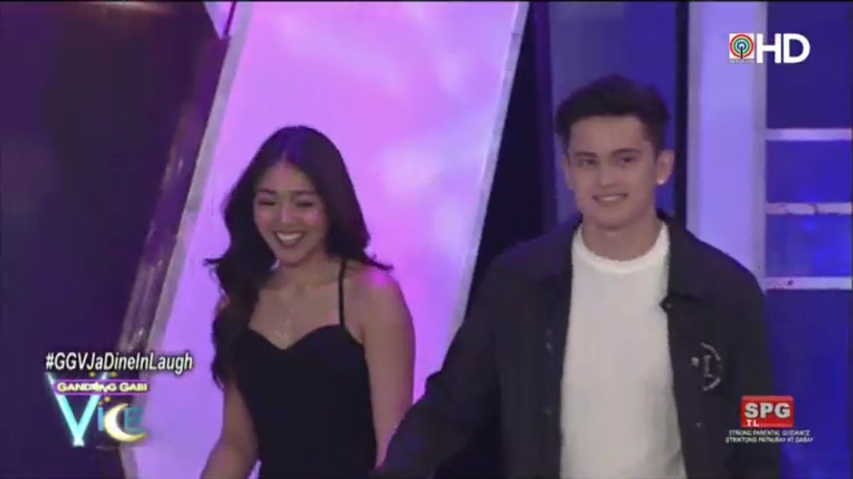 Ito na ang Team Real, #JaDine!  #GGVJaDineInLaugh via ABS-CBN HD on iW...