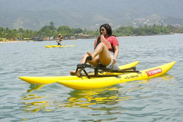 Ilhabela: Pedalar sobre as águas é a nova opção no litoral https://t.c...
