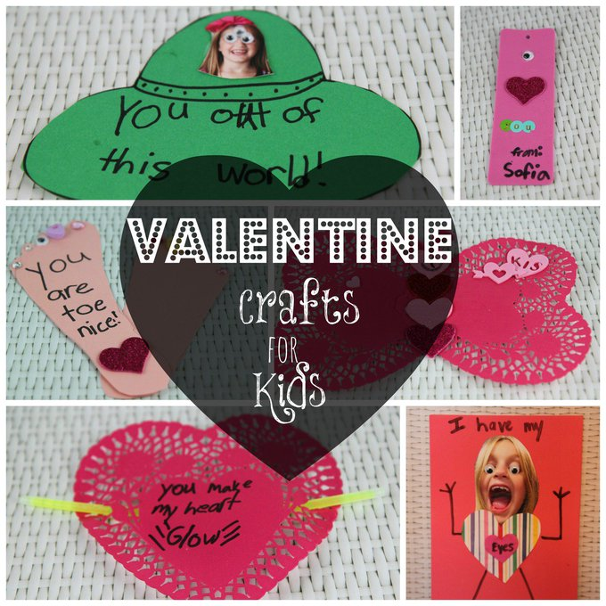 Easy and Inexpensive Valentine Crafts for Kids