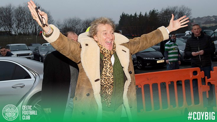 📸 Rod Stewart the Celt! 🙌 https://t.co/7Zl6DU8wTM