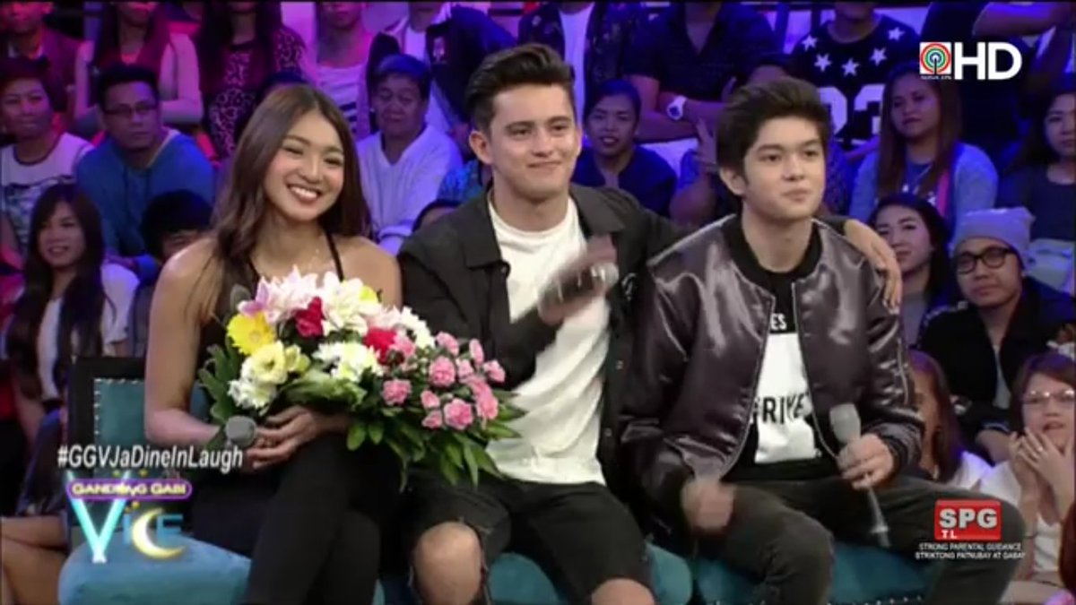 Thanks sa nakakakilig na gabi, #JaDine!  #GGVJaDineInLaugh https://t.c...
