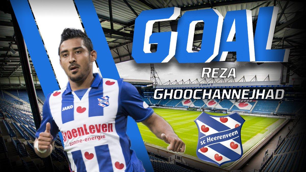 GOAL: Reza maakt op prachtige wijze de 0-1, na een even zo mooie assis...