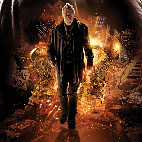 Happy birthday to John Hurt - The War Doctor -