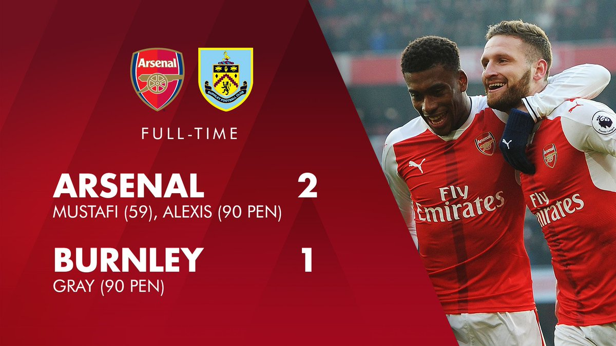 Job done - JUST 😅  #AFCvBFC https://t.co/LT3C0EIgoP