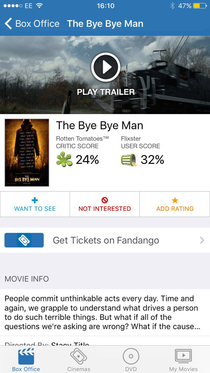 I want to see @TheByeByeMan for one reason and one reason only  For un...