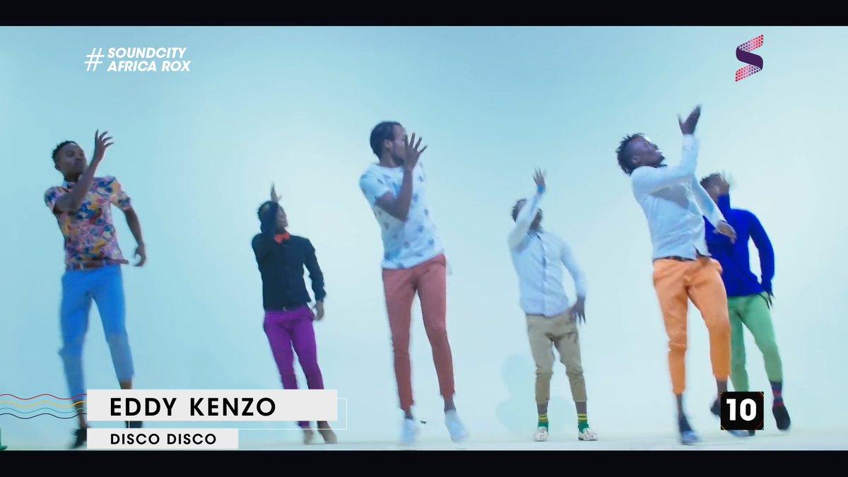 . @eddykenzoficial with 'Disco Disco' at #10 this week   #AfricaRoxCou...