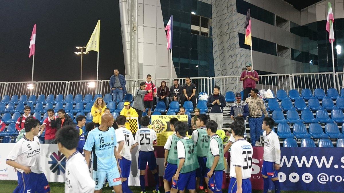3-2試合終了! 予選突破決定。 応援ありがとうございました。