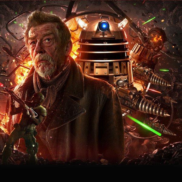 Happy Birthday to The War Doctor, John Hurt!