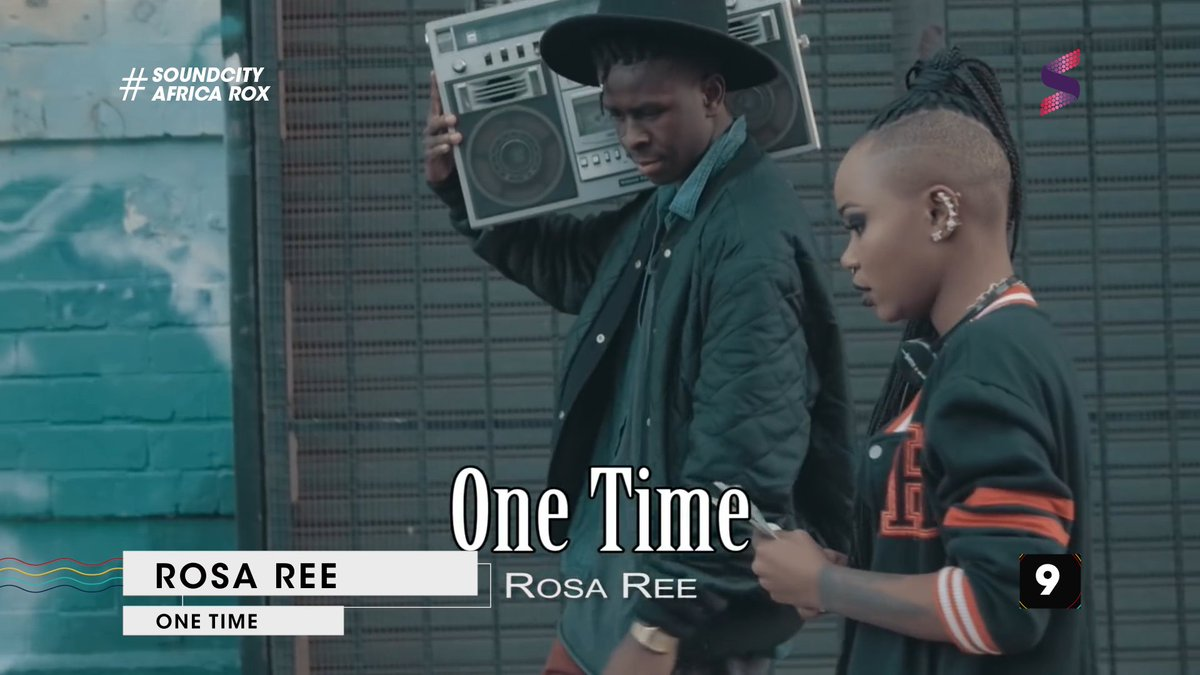 . @rosa_ree1 with 'One Time' at #9 this week   #AfricaRoxCountdown bro...