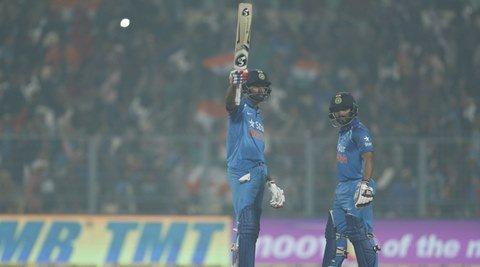 Kedar Jadhav 90 in vain as India lose thriller at Eden Gardens https:/...