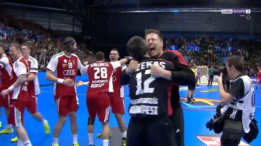 C'est terminé pour le Danemark !  Incroyables Hongrois qui sortent les...