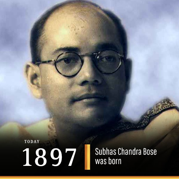 #ThisDayInHistory is celebrated as #DeshPremDivas in order to remember the valuable contributions of this legendary freedom fighter. #Netaji<br>http://pic.twitter.com/vvim51Ynhu