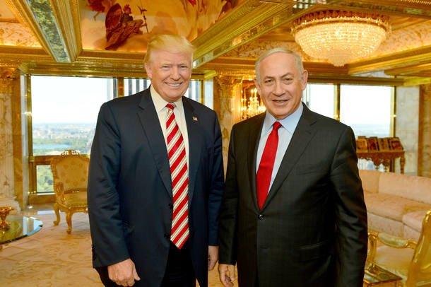 Trump e Netanyahu conversam sobre a situação do Oriente Médio e de Isr...
