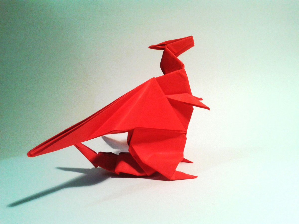 3D Origami Ultimate Dragon : 11 Steps (with Pictures) - Instructables | 900x1200