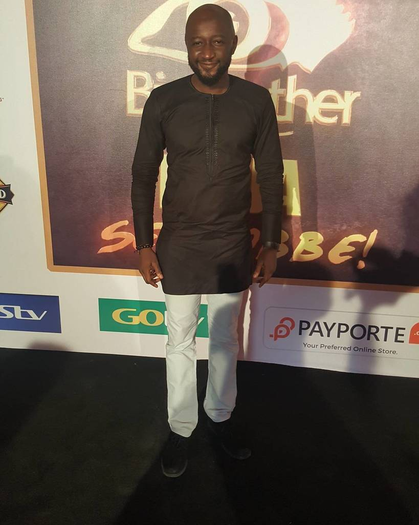 Look who's here for the #BBNaija live screening, @katung_aduwak https:...