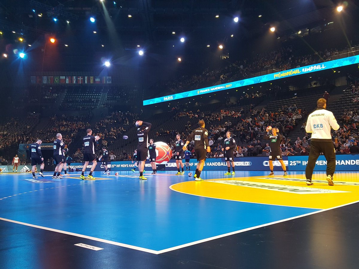Welcome to Paris, #BadBoys! We're happy to have you 🇩🇪 #handball2017 #...