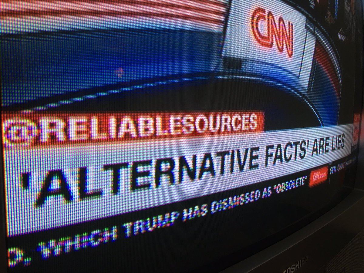 """'Alternative facts' are lies."" https://t.co/0NuU2KBGKN"
