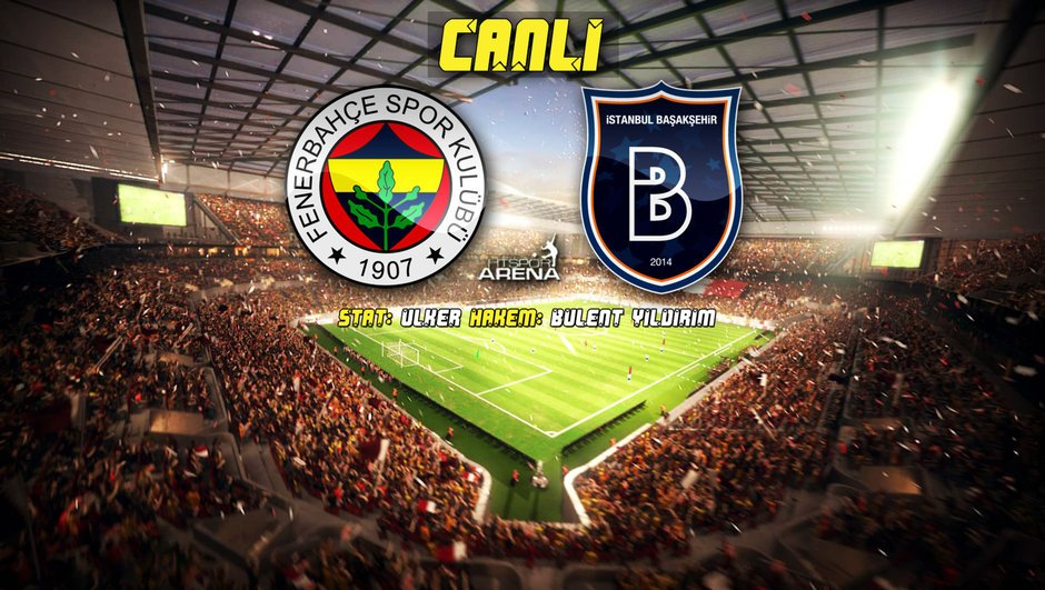 İLK YARI SONA ERDİ | #Fenerbahçe: 1 - #Başakşehir: 0 https://t.co/znGu...