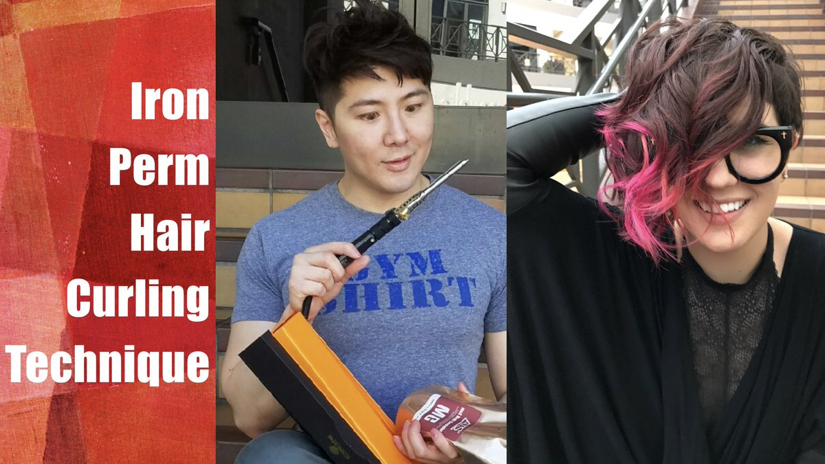 Guy Tang On Twitter Iron Perm Hair Curling Tutorial Now Up
