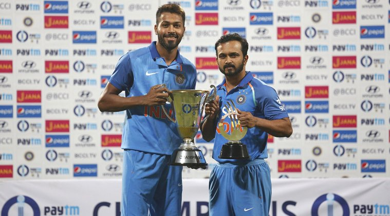 Kedar Jadhav, Hardik Pandya's show, great demo for Champions Trophy: V...