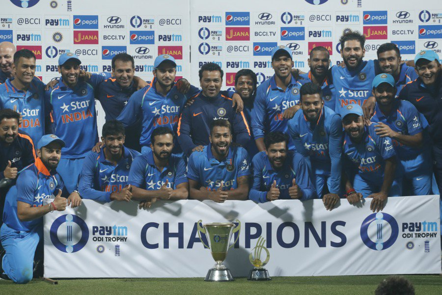 Congratulation for great series win