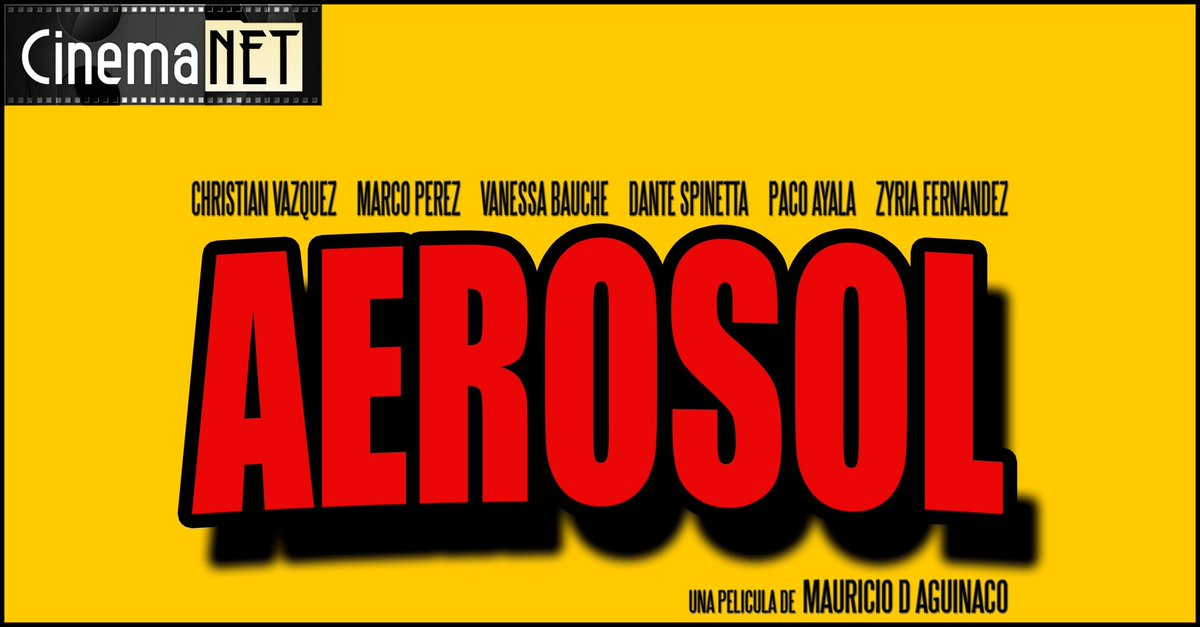 En video nuestra #Review de #Aerosol @AerosolTheMovie, una película de @mdaguinaco
