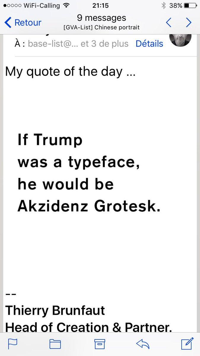 Hashtag #akzidenz na Twitteru