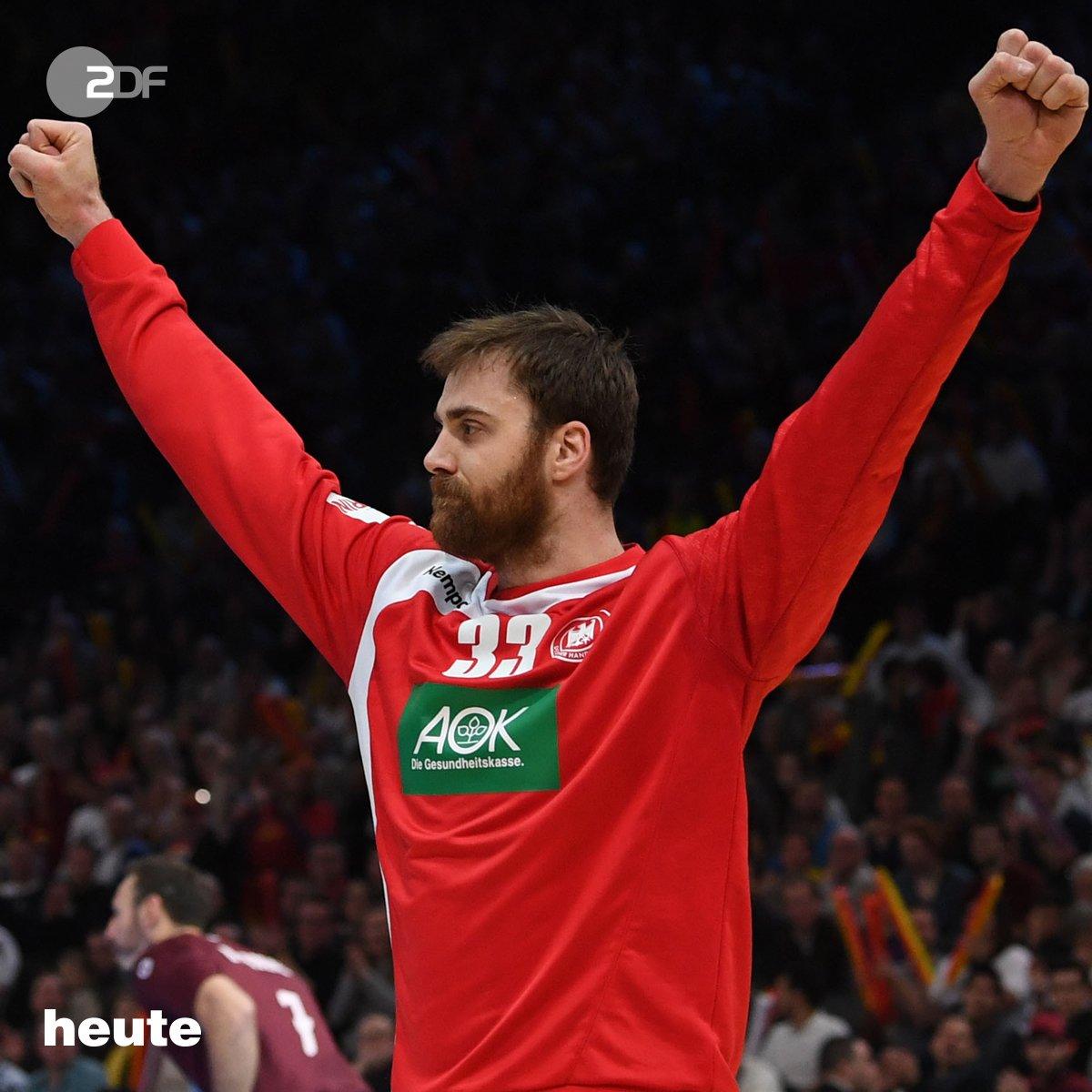 Handball-WM: Deutschland führt zur Halbzeit mit 10:9 gegen Katar. #GER...