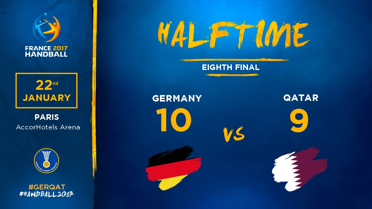 This game keeps all its promises! #GERQAT  #Handball2017 #PhenomenalHa...