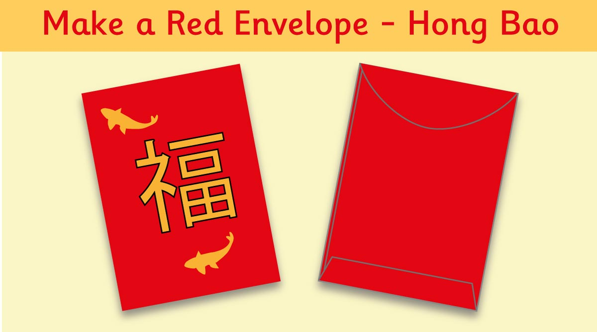 Topmarks On Twitter Make A Lucky Red Envelope For Chinese New Year