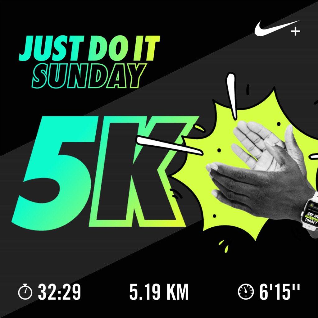 #Nike #nikeplus #run #running #runner 5 km rompiendo récords !!!<br>http://pic.twitter.com/r40A9BFXAW