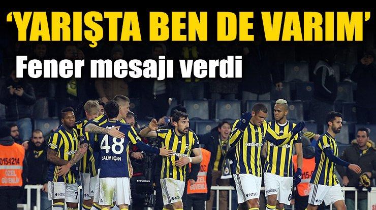 Fenerbahçe mesajı verdi: 1-0 https://t.co/Ni1Omg3ZUH https://t.co/cBOn...
