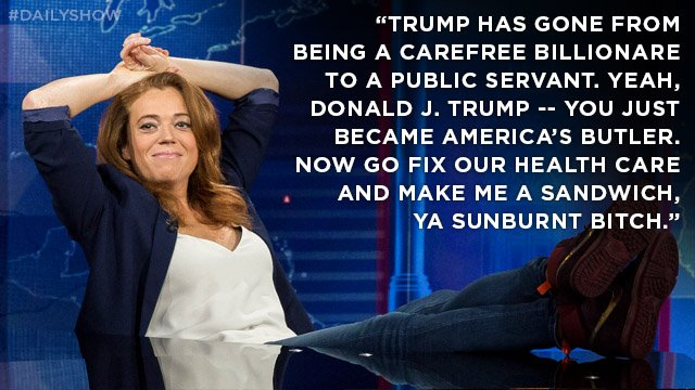 .@michelleisawolf finds a silver lining to Trump's presidency. https:/...