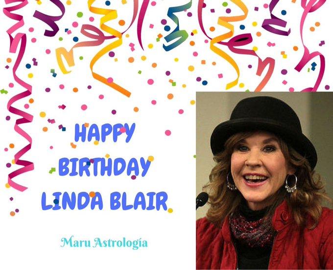 HAPPY BIRTHDAY LINDA BLAIR!!!!