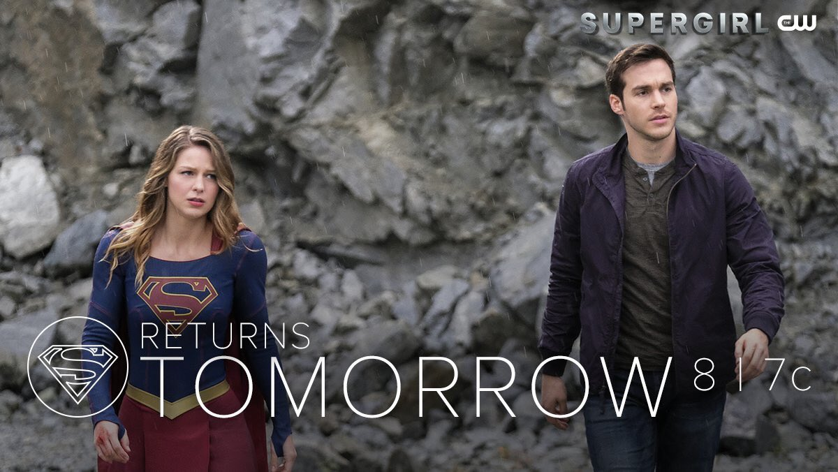 What does it take to be a hero? #Supergirl returns TOMORROW at 8/7c on...