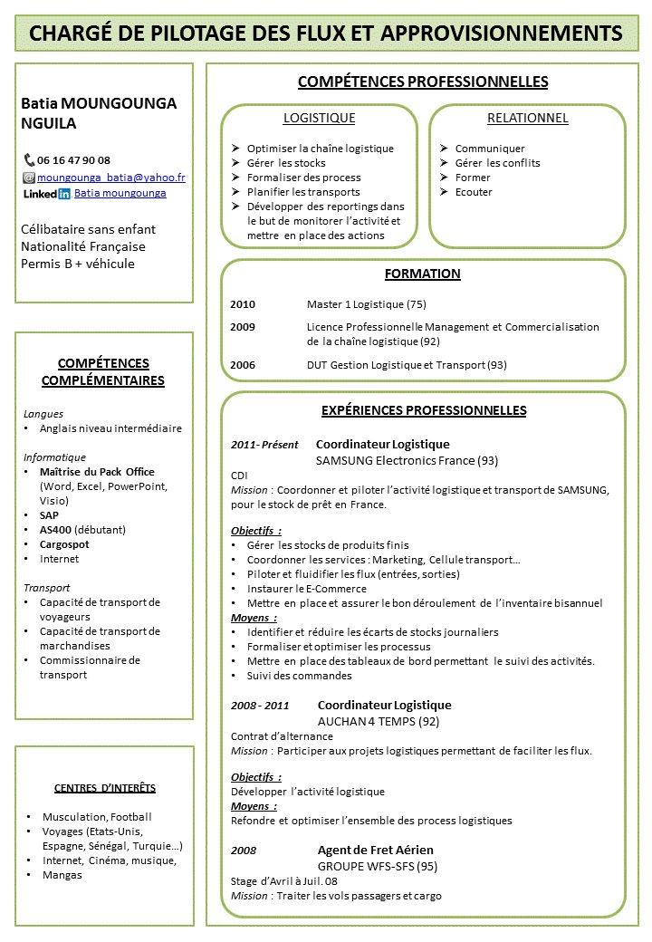 moungounga batia on twitter   u0026quot  pleasert  recherche emploi  approvisionneur  iledefrance   cv