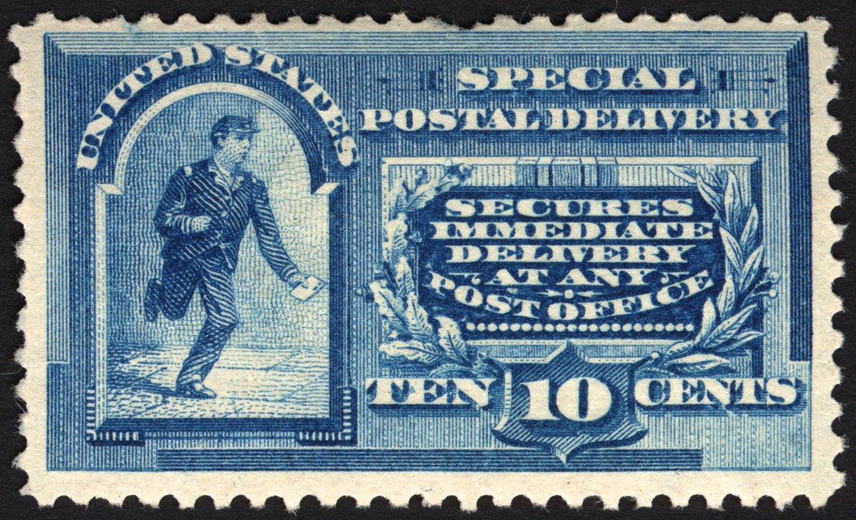 Well Centered #E2 10c Blue Special Delivery 1888 VF MLH Fresh CV 500+ Rare Stamp   http://www. ebay.com/itm/E2-10c-Blu e-Special-Delivery-1888-VF-MLH-Fresh-CV-500-Rare-Stamp-/132069961623?roken=cUgayN&amp;soutkn=Tapf1g &nbsp; …  via @eBay<br>http://pic.twitter.com/ECZyqTCq33