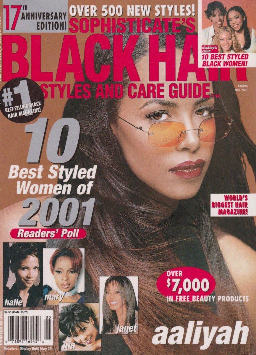 "ً on twitter: ""aaliyah x black hair magazine ? https://t.co"