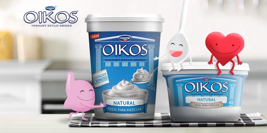 Además de combinar con todo, OIKOS® es una buena fuente de calcio. https://t.co/GStbaiweoe