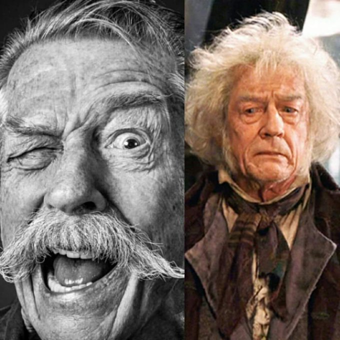 Happy Birthday to John Hurt actor and Academy Award-nominee who portrayed Mr Ollivander in Harry Potter