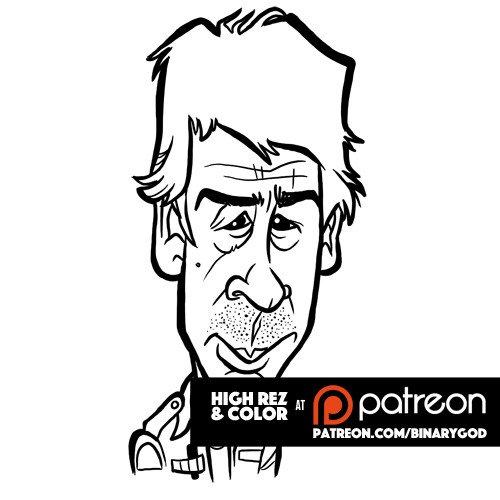 Jan 22: Happy birthday John Hurt! Color at  Custom illustration at