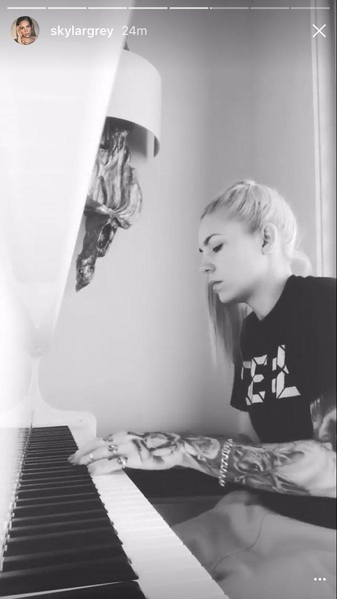 Instagram Skylar Grey nude photos 2019