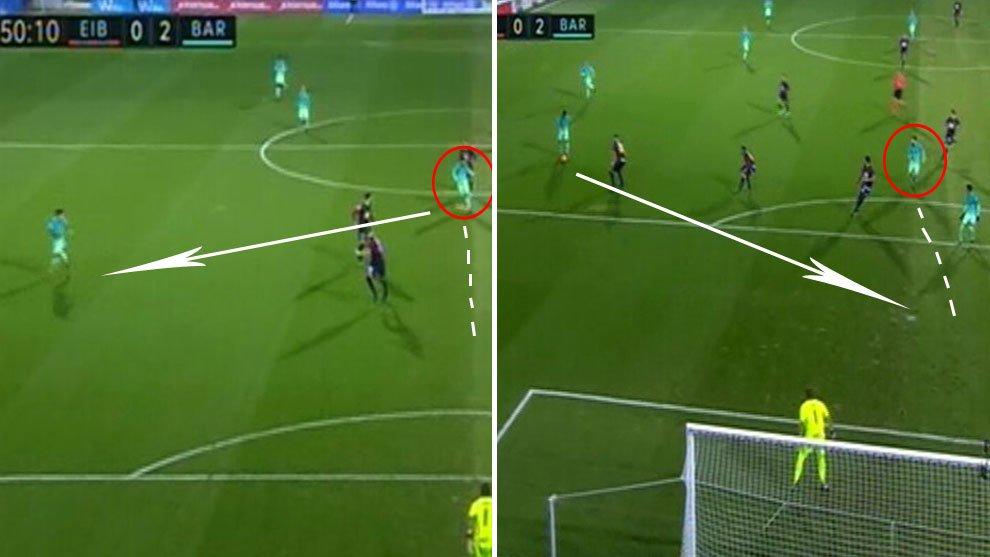 Messi culmina en gol la 'pared de las paredes' con Luis Suárez  #LaLiga https://t.co/gI1kr3yN6K