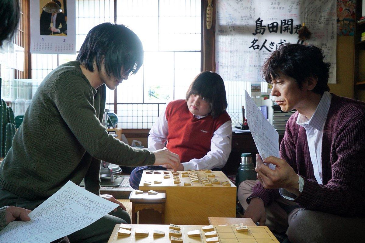 \場面写真、初公開!/  神木さん演じる主人公・桐山零を中心とした『#3月のライオン』の場面写真が本…