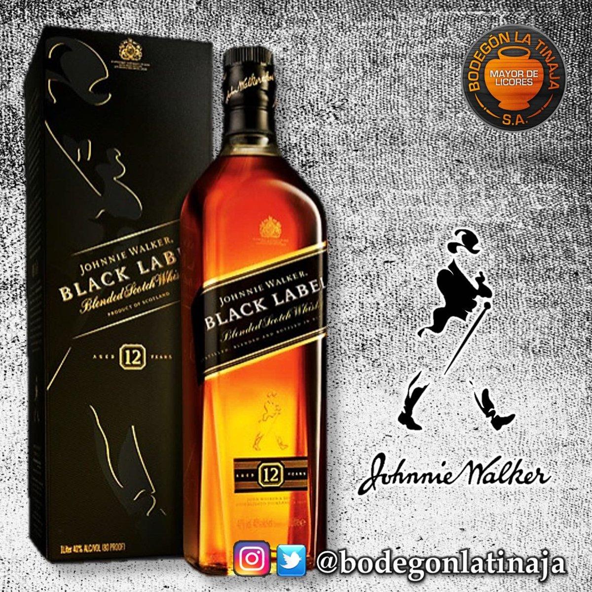 #BlendedScotchWhisky #JhonnyWalker #BlackLabel #EtiquetaNegra a un excelente precio... #BodegonLaTinaja en la 72.<br>http://pic.twitter.com/qsHk0yK0IJ