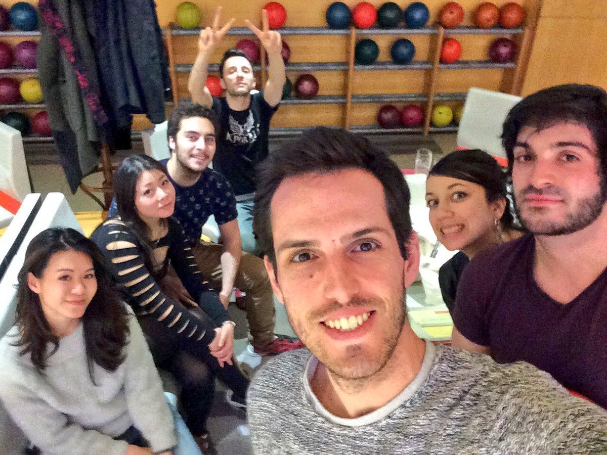 On fini en beauté avec les potos @LaurentCaccia @Ichiban_Japan @Pandrezz #bowling #friends #happy<br>http://pic.twitter.com/JXfhvk6Qys