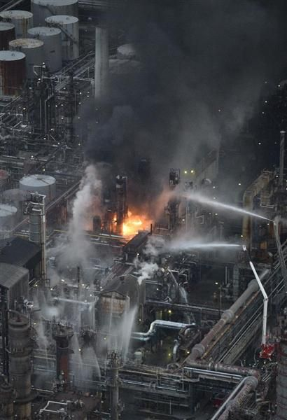 和歌山石油工場火災、11時間ぶり避難指示解除 sankei.com/west/news/1701…