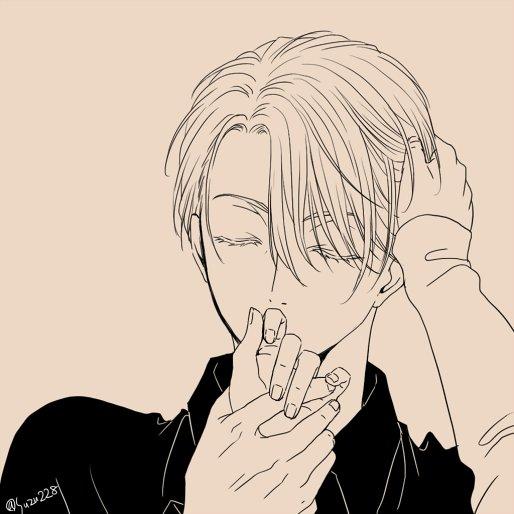 触ったり触られたり ※ヴィク勇